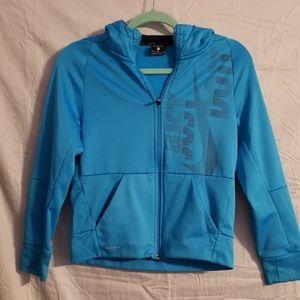 Women's Nike just do it hooded jacket Size Medium